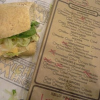 Photo taken at Which Wich? Superior Sandwiches by Jennifer H. on 4/20/2013