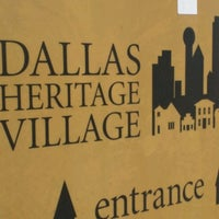 Photo taken at Dallas Heritage Village by Rafael T. on 4/13/2017