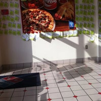 Photo taken at Domino's Pizza by Monique on 1/7/2013