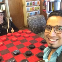 Photo taken at Upstart Crow Bookstore & Coffee House by Fernando O. on 3/4/2016