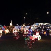 Photo taken at Tripp Family Christmas Lights by Troy K. on 12/14/2013