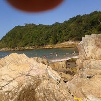 Photo taken at Praia da Penha by Alisson A. on 12/23/2012