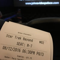 Photo taken at Galaxy Colony Square Theatres by Joe L. on 8/13/2016