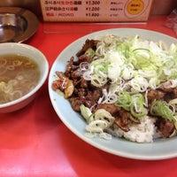 Photo taken at 菜苑 浅草本店 by しゃろ on 7/23/2013