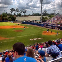 Photo taken at McKethan Stadium at Perry Field by Christopher J. on 4/28/2013