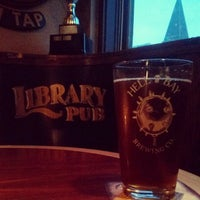 Photo taken at The Library Pub by Chris on 9/29/2014