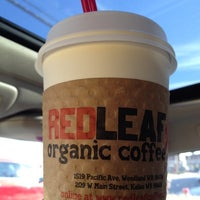 Photo taken at RED LEAF Organic Coffee by Theresa . on 10/8/2012
