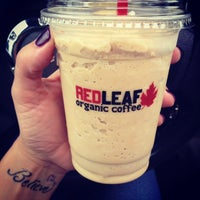Photo taken at RED LEAF Organic Coffee by Theresa . on 7/3/2014