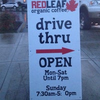 Photo taken at RED LEAF Organic Coffee by Theresa . on 11/30/2012