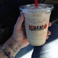 Photo taken at RED LEAF Organic Coffee by Theresa . on 7/27/2014