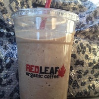 Photo taken at RED LEAF Organic Coffee by Theresa . on 10/5/2012