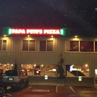 Photo taken at Papa Pete's Pizza by Theresa . on 11/13/2012