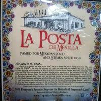 Photo taken at La Posta De Mesilla by Julio A. on 11/2/2012