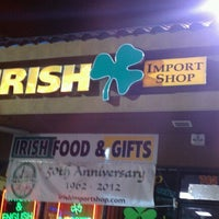 Photo taken at Irish Import Shop by Corinne C. on 1/8/2013