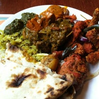 Photo taken at Taste Of India by Curtis K. on 3/10/2013