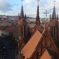 Photo taken at St. Anne's Church by Tadas G. on 11/12/2012
