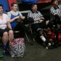 Photo taken at Roller Derby by Kelly H. on 6/15/2013