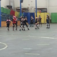 Photo taken at Roller Derby by Kelly H. on 9/15/2013