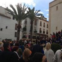 Photo taken at Plaça Major by JOHN F. on 12/15/2012