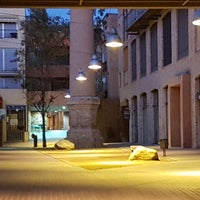 Photo taken at plaça de la isabela by Ferran X. on 11/20/2017