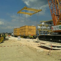 Photo taken at Site Tripatra EPC 1 Banyu Urip Project by Troy E. on 11/22/2013