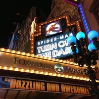 Photo taken at Spider-Man: Turn Off The Dark at the Foxwoods Theatre by Candy S. on 12/3/2012