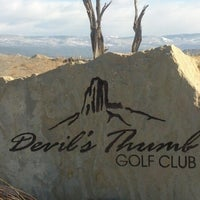 Photo taken at Devils Thumb Golf Club by Miguel Z. on 3/18/2013