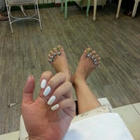 Photo taken at In the Garden - Nail Spa by BoBoMueN~☆ ✨. on 6/17/2014