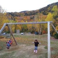 Photo taken at Parc Mont-Tremblant Sect. De la Diable by Irwan A. on 10/8/2012