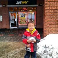 Photo taken at Subway by Irwan A. on 2/22/2013