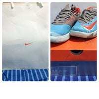 Photo taken at Nike by Adrian M. on 1/13/2014