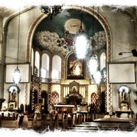 Photo taken at National Shrine of Our Lady of Lourdes by Mariflor R. on 12/8/2012