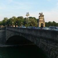 Photo taken at Wittelsbacherbrücke by Mykola B. on 7/20/2013
