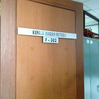 Photo taken at Kantor. Direktorat Jenderal Pemasyarakatan, ; Jl Veteran 11 Jak Pus by Lya L. on 9/13/2013