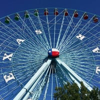 Photo taken at Texas Star Ferris Wheel by George D. on 10/16/2014