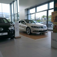 Photo taken at VW Citygate Watford by Richard T. on 9/25/2013