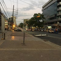 Photo taken at Tomas Morato Avenue by Czar A. on 4/15/2015
