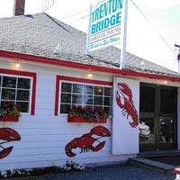 Photo taken at Trenton Bridge Lobster Pound by William Y. on 6/21/2013