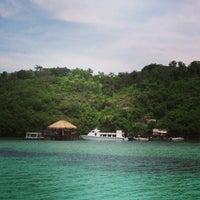 Photo taken at Bali hai Beach club by Irina K. on 2/24/2013