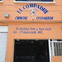 Photo taken at Carnitas Y Chicharron El Compadre by Diego C. on 3/30/2013