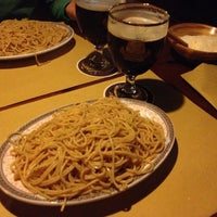 Photo taken at Pub Birreria Spaghetteria da Agostino by Andrea Ciccio C. on 10/7/2012