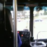 Photo taken at AU – Tenleytown Shuttle Stop by DerekGM on 11/28/2012