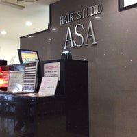 Photo taken at ヘアースタジオ ASA 仲町台店 by airzoo k. on 12/15/2013