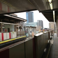 Photo taken at Korakuen Station by airzoo k. on 3/1/2013