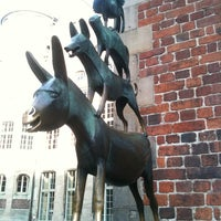 Photo taken at Bremen Town Musicians by Bettina .. on 5/10/2013