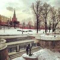 Photo taken at Aleksandrovskiy Garden by Evgeniya A. on 3/18/2013