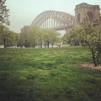 Photo taken at Astoria Park by Katie R. on 5/8/2013