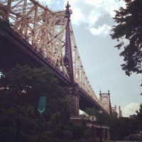 Photo taken at Queensbridge Park by Katie R. on 6/9/2013