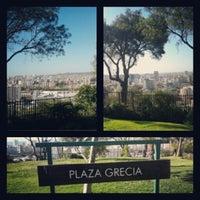 Photo taken at Plaza Grecia by Violeta C. on 11/23/2012