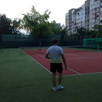 Photo taken at Teren de tenis by Максим Р. on 8/5/2013